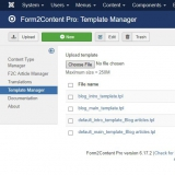 F2C Template Manager